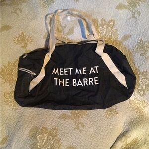 Handbags - New Meet me at the barre duffle bag